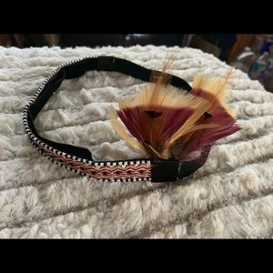 Fancy Feather Headband